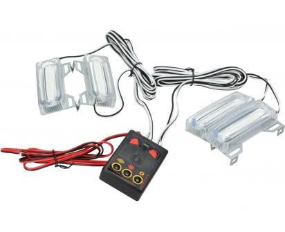 LED světla pro denní LED-DRL 4ks