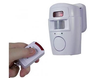 Mobilní alarm na ovládání