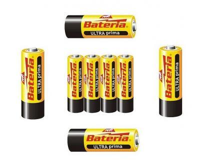 Tužkové baterie AA - balení 4ks