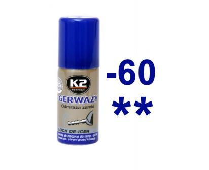 K2 GERWAZY 50 ml - rozmrazovač zámků