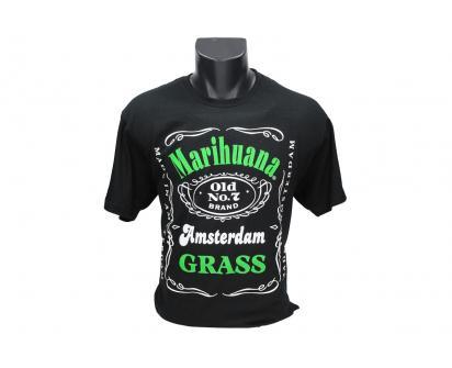 Tričko Marihuana Amsterdam Grass