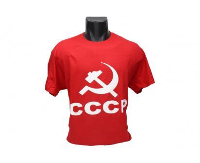 Tričko CCCP červené