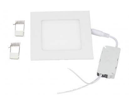 LED stropní panel zápustný 6W čtverec