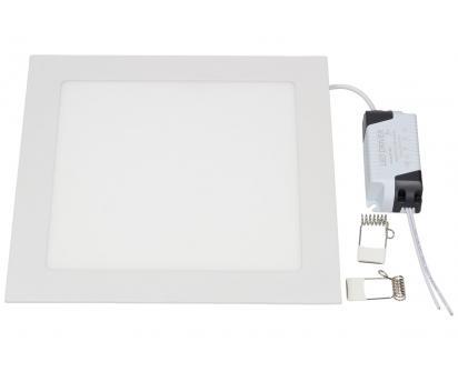 LED stropní panel zápustný 18W čtverec