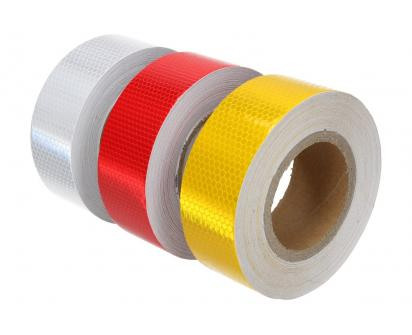 Reflexní lepící páska 25m barevná
