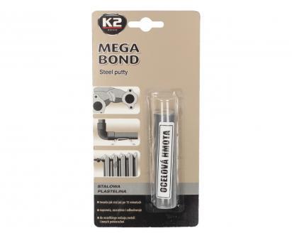 K2 MEGA BOND 60 g - ocelová plastelína na opravu