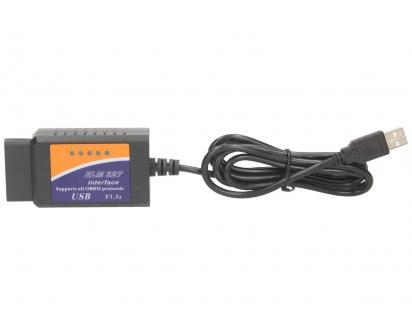 Adaptér ELM 327 USB Kabel OBD II V1.5a