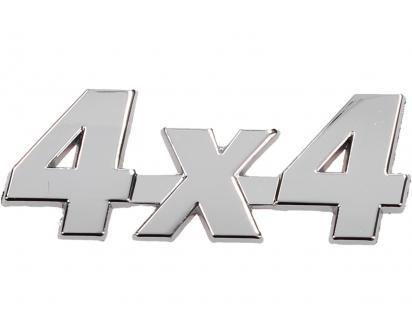 Kovová samolepka 4x4  8,5cm x 3,5cm