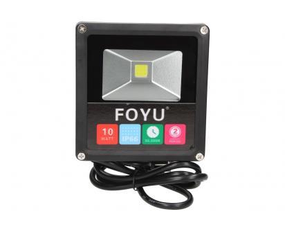 FOYU LED reflektor 10W plochý