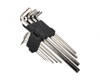 Sada imbusových klíčů bez kuličky 9 dílů