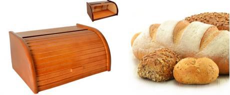 Chlebovka dřevěná velká