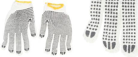 Pracovní rukavice pletené