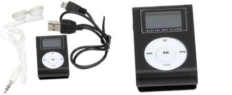 MP3 přehrávač s podsvíceným displejem