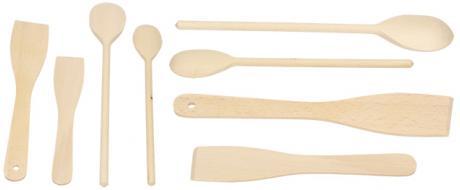 Sada dřevěného náčiní 4 kusy
