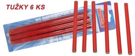 Zednické tužky 6 kusů