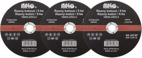 Řezný kotouč Mago 180x2,2x22,2