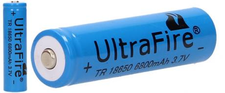 Dobíjecí baterie Ultra Fire 6800mAh 3.7V