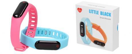Fitness náramek s monitorem tepové frekvence srdce