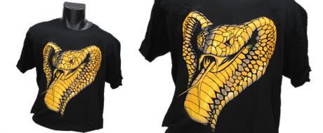 Tričko Žlutá kobra
