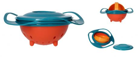 Magická miska Gyro Bowl pro děti s rotací 360°