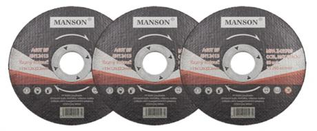 Řezný kotouč Manson 115 x 1,2 x 22,2