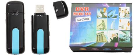 USB Camera DVR mini U8