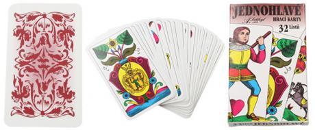 Maryášové karty jednohlavé 32 kusů