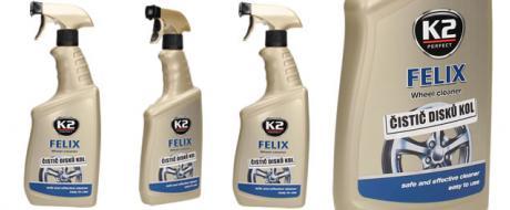 K2 FELIX 770 ml - čistič disků kol