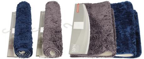 Koupelnová rohožka kobercová  SOFTY 50 x 80 cm