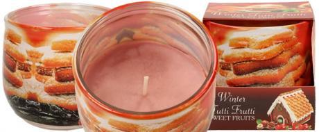 Vonná svíčka zimní Tutti fruti