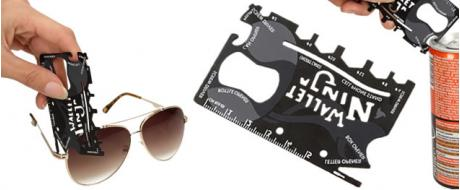 Multifunkční kreditní karta 18v1