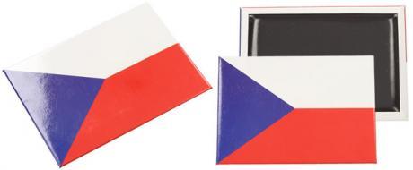 Česká vlajka magnet 9 x 6,5 cm