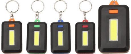Hranatá klíčenka výkonná LED svítilna