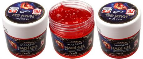 Bylinná mast 150 ml - masážní hadí gel