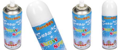 Umělý sníh ve spreji