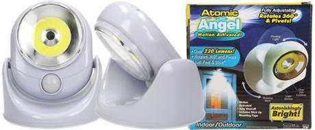Pohybové bezdrátové světlo Atomic light Angel