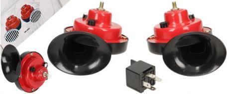 Šnekové klaksony sada 2 kusy - HR-3010 12 V