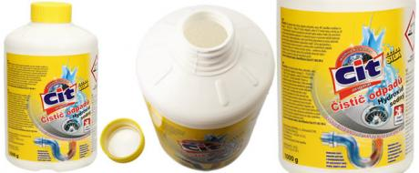 CIT Čistič odpadů Hydroxid sodný 1000 g