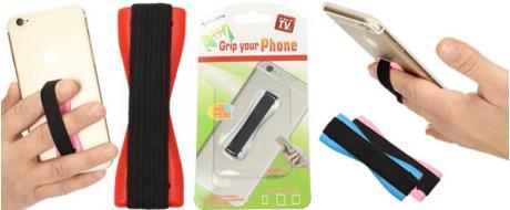 Praktický elastický popruh na mobil