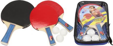 Pálky pro stolní tenis 2ks s míčky Magicall