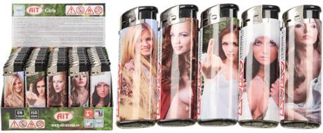 Sada erotických zapalovačů 50 kusů