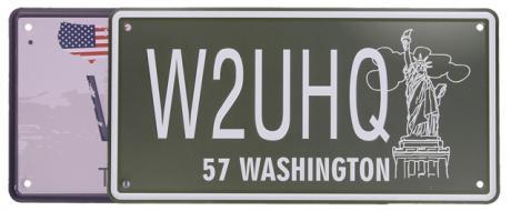 Cedule značka USA 30x15,5 cm