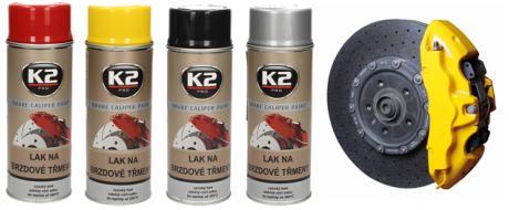 K2 BRAKE CALIPER PAINT 400 ml - Barva na brzdové třmeny a bubny