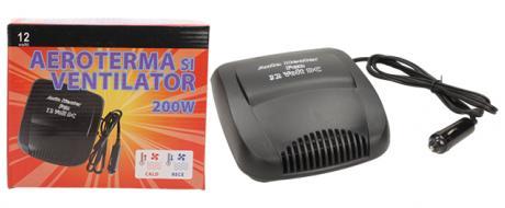 Ventilátor s ohřevem 12V