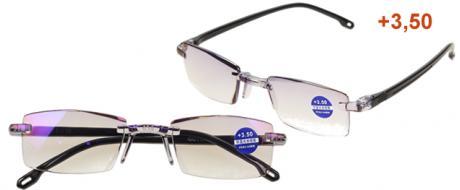 Dioptrické brýle s antireflexní vrstvou černé +3,50