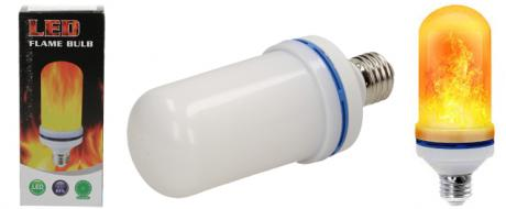 LED žárovka s efektem plamene 7W
