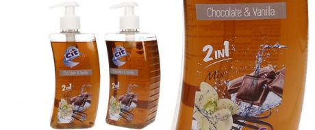 Cit tekuté mýdlo 500ml Chocolate & Vanilla 2v1