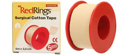 Chirurgická bavlněná páska 5m x 2,5cm