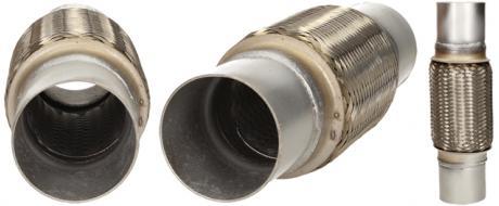 Vlnovec výfuku - pružný díl výfuku (60x155x260)