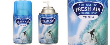 FRESH AIR náplň do automatického osvěžovače vzduchu 260ml - Oceán